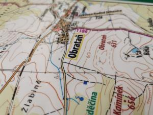 turistická mapa města Chýnov