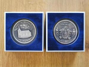 Pamětní medaile SDH Obora