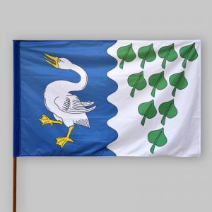 Slavnostní vlajka obce Myštice