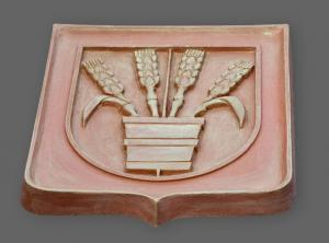 keramický znak obce