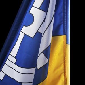 Slavnostní vlajka města Sedlice